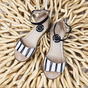 Livie & Luca Shoes - LIVIE AND LUCA GIRLS GEORGIE LEATHER SANDALS